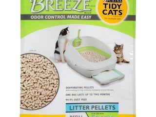 Purina Tidy Cats litter Pellets  BREEZE Refill litter Pellets  7 lb  Pouch