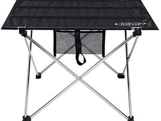 Ultralight Portable Folding Camping Table Compact Roll Up Tables with Carrying Bag for Outdoor Camping Hiking Picnic