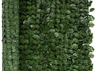 Choice Products Outdoor Garden unknown size Artificial Faux Ivy Hedge leaf and Vine Privacy Fence Wall Screen   Green