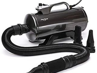 shernbao High Velocity Professional Dog Pet Grooming Hair Drying Force Dryer Blower 6 0HP  DHD 2400T