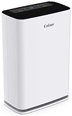 Colzer Air Purifier with True HEPA Air Filter  Air Purifier for large Room