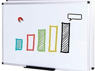 VIZ PRO Magnetic Whiteboard Dry Erase Board  48 X 36 Inches  2 Pack