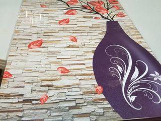 Purple Vase Canvas Art