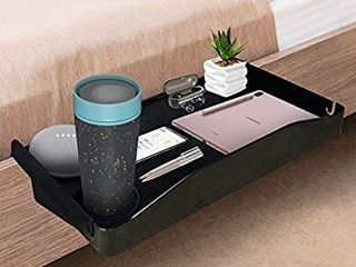 Bedside Shelf for Bed  Side Organizer Attachment Tray for Bunk Bed  Clip On Night Stand