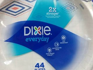 Dixie Everyday 10 1 16  Paper Plates   dinner Size   44 plates