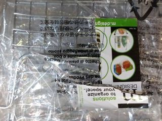 Mdesign Metal Open Front Kitchen Food Storage Basket  10  Wide  4 Pack   Chrome