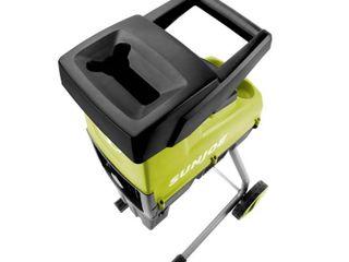 Sun Joe CJ603E Cutting Diameter Electric Silent Wood Chipper Shredder 15 Amp 1 7 Inch