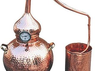 5 Gallon Pure Copper Alembic Still for whiskey  moonshine essential oils by Copperholic