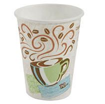 PerfecTouch 5342CD Insulated Paper Hot Cup  New Coffee Design  12 oz Capacity  Case of 1000 Cups