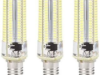 E11 lED Bulb Microwave Oven light 4W Daylight White 6500K 600lm for Ceiling Fan light Fixture Freezer Hood 3pcs