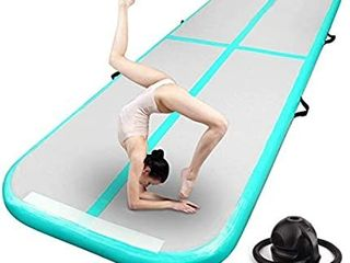 FBSPORT 13ft 26ft Unknown Size Inflatable Air Gymnastics Mat Training Mats 4 8 inches Thickness