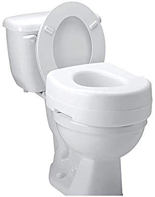 Carex Raised Toilet Seat 5 1 2 Inch Height