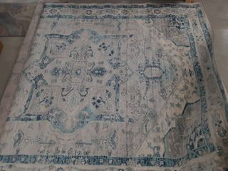 Persian Vintage Distressed 8x10ft Area Rug