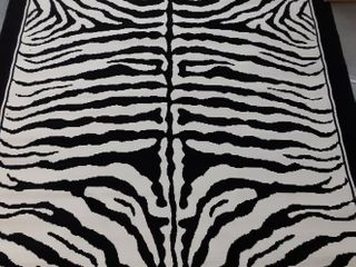 McClintock Zebra Pattern 8x11ft Area Rug