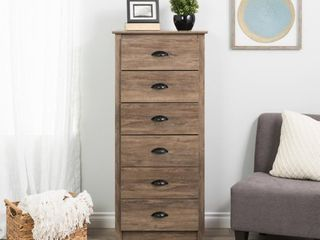 Salt Spring Tall 6 Drawer Chest