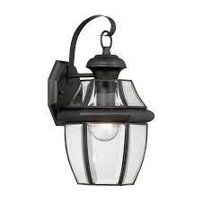 Portfolio Outdoor Matte Black Wall lantern