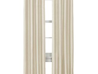 Jardin Thermal lined Room Darkening Curtain Panel Natural Thermal Shield
