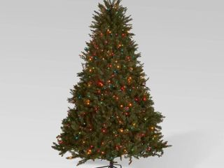 7 5ft Fraser Fir Hinged Faux Christmas Tree