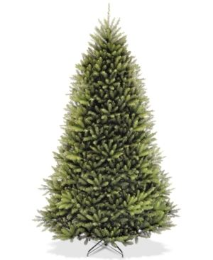 9ft Dunhill Fir Hinged Unlit Faux Tree