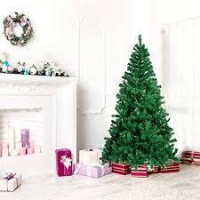 7ft Unlit Hinged Artificial Tree