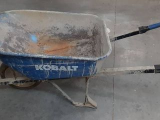 Blue Kobalt Wheelbarrow