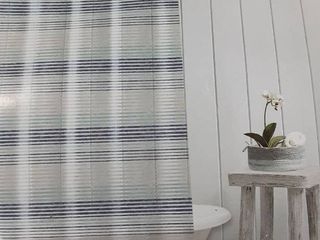 Waterproof Calming Stripe Shower Curtain