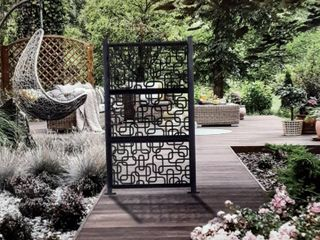 laser Cut Metal Privacy Fence