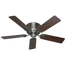 52in Hunter Ceiling Fan in Walnut   Cherry