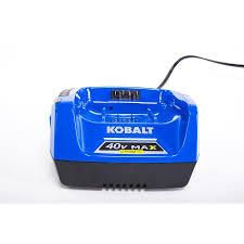 Kobalt lithium ion 40v max battery charger