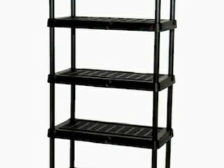 5 Tier Blue Hawk Shelving Unit
