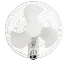 White Utilitech 18in Wall Fan