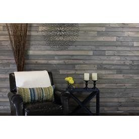 Gunmetal Grey Pine Wood Shiplap Wall Plank