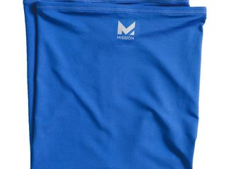 Mission Cooling Neck Gaiter Cobalt Blue