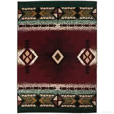 Burgundy Persian Weavers Allstar Woven Native American Rug Retail 179 99