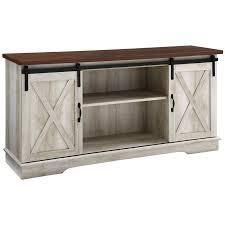 Sliding Barn Door Console 58in