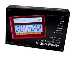 John N  Hansen Co  Portable Color Touch Screen 7 in 1 Video Poker