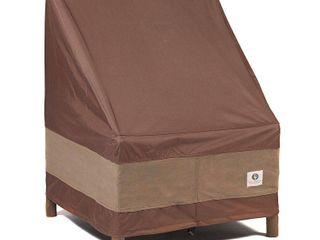 29 W Ultimate Patio Chair Cover Mocha Cappuccino   Classic Accessories