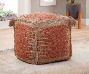 Red The Curated Nomad Jansen Handwoven Jute Retail 96 49