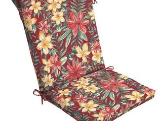 Arden Selections Ruby Clarissa Tropical Outdoor Chair Cushion   44 in l x 20 in W x 3 5 in H