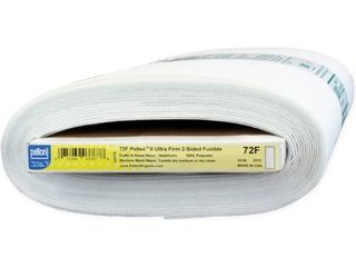 Pellon 72F Pelte x II Ultra firm Double sided Fusible Stabilizer  20 inch x 10yd