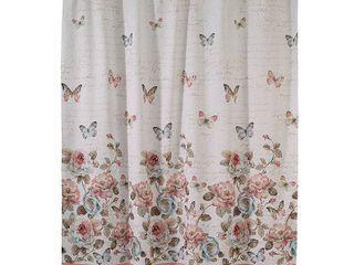 Avanti Butterfly Garden Shower Curtain Bedding