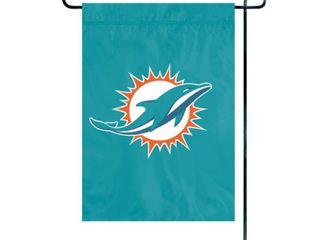 Party Animal  Inc  Miami Dolphins Premium Garden Flag