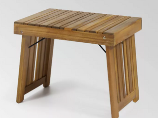 Kyoto Outdoor Acacia Wood Folding Side Table