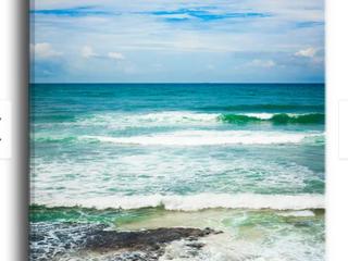 Indian Ocean Seascape Photography Canvas