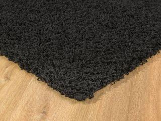l Baiet Alora Black Shag 2  x 3  Rug