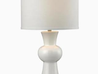 Elkhome   White Ceramic Up light