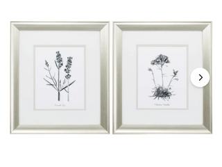 lavender   2 Piece Set Picture Frame
