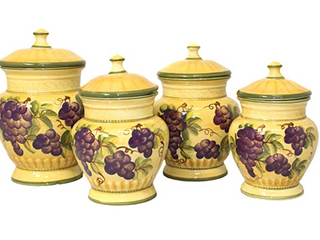 Sonoma Collection Deluxe 4 Piece Canister
