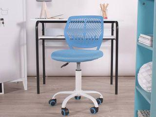 FurnitureR Swivel Mesh Office Chair Task Chair Carnation