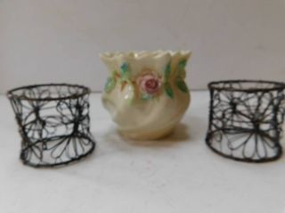 Porcelain Bowl Trinket Holder  Misc